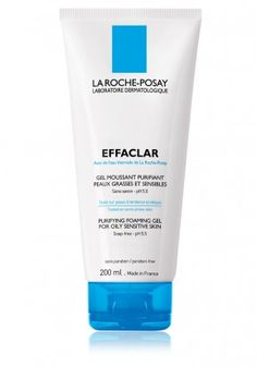 La-Roche Posay Effaclar Purifying Foaming Gel.