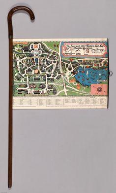 Le plan canne de l'Exposition Universelle de 1939 à New York - La boite verte