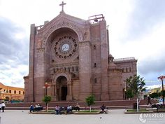 Matehuala, Mexico...church on the square that I ducked into