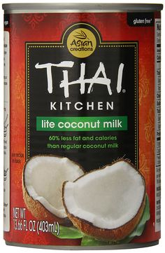 Thai Kitchen Lite Coconut Milk, 13.66 oz. (Pack of 12) -- A special product just for you to view. See it now! : Fresh Groceries