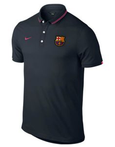 Barcelona League Authentic Polo Navy FC Barcelona Official Merchandise Available at www.itsmatchday.com