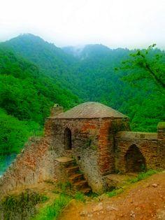 Rudkhan Castle in Foman city, Gilan, Iran