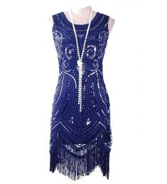 Buy Women's Vintage Gatsby Bead Sequin Art Nouveau Deco Flapper Dress - Navy Blue - and Find More From Our Large Selection of Women's Dresses With Big Discount. Two Piece Wedding Dress, Lace Beach Wedding Dress, Wedding Dresses Uk, Prom Dresses, Ladies Dresses, Petite Cocktail Dresses, Petite Dresses, Navy Dress Outfits, Vestidos