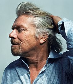 Sir Richard Branson, CEO of Virgin Atlantic. Joe Pugliese for TIME (For a FREE TRIAL to Key to Success Magazine go to the link at the top of the page under the board description).