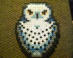 Harry Potter Hedwig the Owl Perler Bead Creation