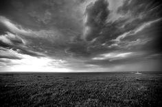 Thunderstorm over the Cimarron National Grasslands, KS.