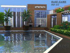 Sims 4 CC's - The Best: House & Restaurant by Danuta720