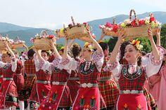 Kazanlak, Bulgaria. Rose ValleyKazanlak, Bulgaria. Valley of Roses. Rose Festival