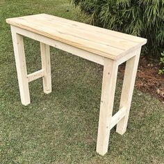 Please visit postingan Diy Bar Table To read the full article by click the link above. Bar Height Table Diy, Bar Table Diy, Wooden Bar Table, Outdoor Bar Table, Deck Table, Patio Bar Set, Diy Bar, Diy Pub Style Table, Pub Set