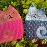 Cat mug rug