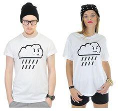 Grumpy T shirt Tshirt T-shirt Womans Mens Cloud Graphic Fashion Designer