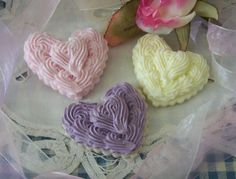 Heart 2 Heart Cookie Handpoured Silicone Soap Mold Wax Tart mold. $19.99, via Etsy.