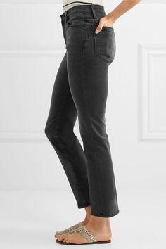 FRAME - Le High Straight-leg Jeans - Gray - 23