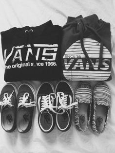 Vans hoodies and kicks