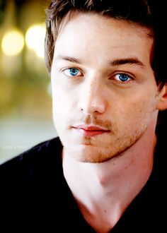 James McAvoy - throw me a life preserver cause I'm drowning in those eyes.