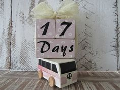 baby age blocks-newborn photo prop- milestone blocks- baby shower-baby girl- baby shower gift-pregnancy gift- maternity-pink photo blocks by ShabbySweetCheeks on Etsy