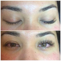 Before and after Lash love