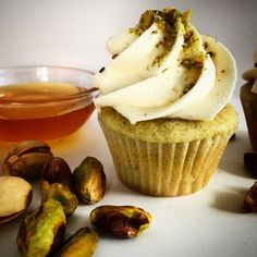 ENVY! #cupcake #gourmet #envy #deadlysins #pistachio #honey #buttercream #sinfulsweets