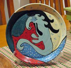 Pottery Sculpture, Decorative Plates, Disney Characters, Home Decor, Art, Art Background, Decoration Home, Room Decor, Kunst