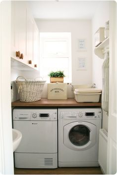 cozy cottage laundry