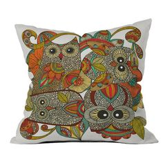 I pinned this Valentina Ramos Four Owls Pillow from the Valentina Ramos event at Joss and Main!