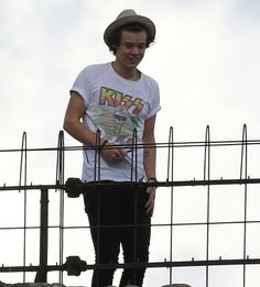 Harry Styles...i think hats are his new thing