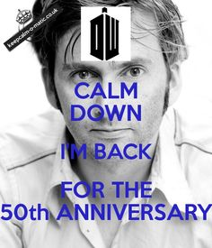 No words can describe how excited I am that David Tennant is back!!!!!! <3 <3