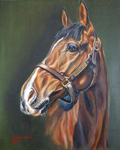 """Mi piace"": 37, commenti: 5 - Lara Roberts (@lararobertsfineart) su Instagram: ""#horseracing #flatracing #thouroughbred #horses #horsesofinstagram #equestrian #equestrianpainting…"""