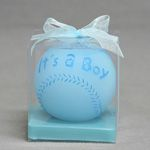 It's a Boy/Girl Baseball Candles - Sold in Cases of 48 and comes in clear gift box with ribbon
