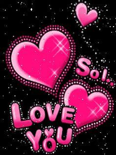 ❤️ LOVE ❤️ - Glitter   ... , animated-romantic, animated-i-love-you-hearts, animated-i-love-you