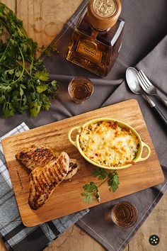 Mexican Sour Cream Rice with Grilled Herb Tequila Chicken