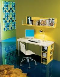 Camas para ni os en melamina con ropero cajonera y for Ikea mesas escritorio ninos