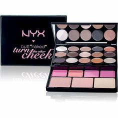 Nyx CosmeticsButt Naked -Turn The Other Cheek Palette Cheaper version of UD Shatter Face Case?
