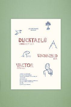 Ducktails (Woodsist/USA) - eduvila | graphic design