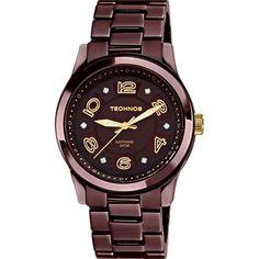 38c08eeed28 Americanas Relógio Feminino Technos Analógico Fashion 2036ij 1m - R 120