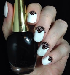 Tips and Topcoat: Black and White | Inspired by..