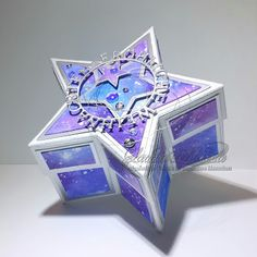 Claudia's Karteria Christmas Crafts, Decorative Boxes, Blog, Winter, Home Decor, Boxes, Bricolage, Packaging, Crafts