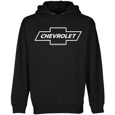 Chevrolet 1965 Logo Pullover Hoodie - Black (Small) - http://www.carhits.com/chevrolet-1965-logo-pullover-hoodie-black-small/
