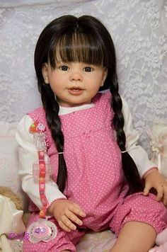 CUSTOM ORDER Reborn Doll Baby Girl Toddler Katie Marie by Ann Timmerman