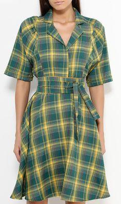 Lovelight-plaid dress