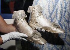 Original Shoes worn by Empress Elisabeth.