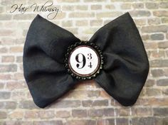 Harry Potter Inspired Hair Bow  Platform 9 3/4 by HairWhimsy1, $7.00