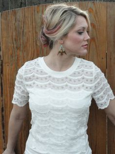 $28 - Not So Plain White Tee by Ellison - LaMaLu Boutique | Women's Online Clothing Boutique