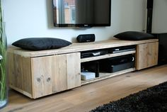 TV Meubel Mark steigerhout | Steigerhoutstunter