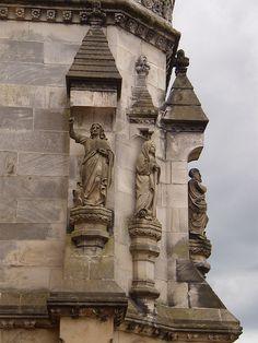 Roslyn chapel, Edinburgh, Scotland