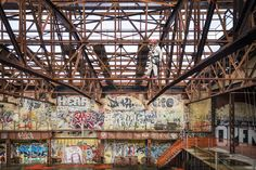 Gowanus graffiti covered 'Bat Cave' To be turned into an Art production factory