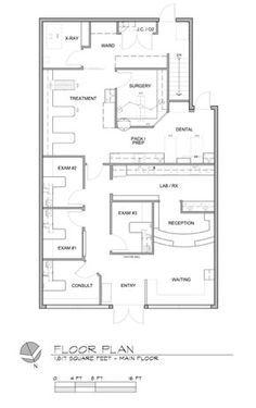 Image Result For Small Veterinary Clinic Floor Plan Pet Clinic Hospital Design Hospital Floor Plan