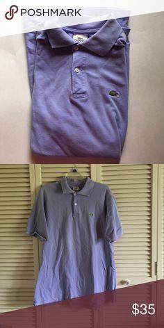 Lacoste polo Light purple Lacoste polo Lacoste Shirts Polos