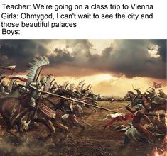 Polish winged hussars vs Ottoman Turks - The Battle of Vienna took place at Kahlenberg Mountain near Vienna on 12 September 1683 after the imperial city had been besieged by the Ottoman Empire for two months. Battle Of Vienna, Starwars, Thirty Years' War, Armadura Medieval, Devian Art, Cosplay Anime, History Memes, Chivalry, Warfare