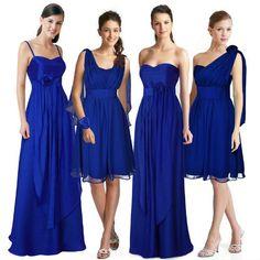 Robe Multiposition Bleu Foncé